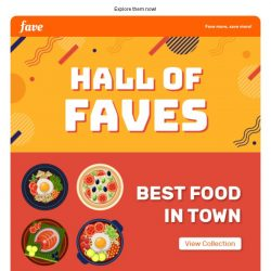 [Fave] These deals made it to the Hall of Faves!