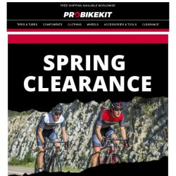 [probikekit] Up to 50% off clothing with our Spring Classics season deals!
