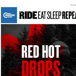[Chain Reaction Cycles] Set Your Alarm…Tomorrow's Going to be RED HOT ⏰