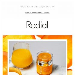 [RODIAL] Hot Right Now: NEW Vit C Sheet Masks