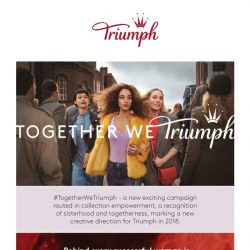 [Triumph] #TOGETHERWETRIUMPH - Special For You!