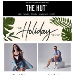 [The Hut] The Holiday shop is now open....