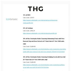 [The Hut] THG Weekend Offer (Beauty & Fashion)