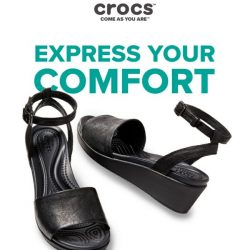 [Crocs Singapore] Leigh-Ann Wedges: a combination of style and comfort - Get yours now!