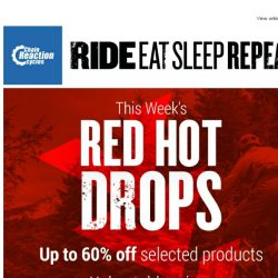 [Chain Reaction Cycles] Red Hot Drops - Going Fast!
