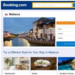 [Booking.com] Prices in Malacca dropped again – act now and save more!