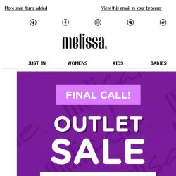 [Mdreams] Outlet Sale: Final Call