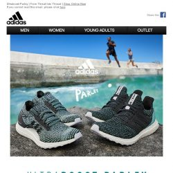 [Adidas] The new Ultraboost Parley out now!
