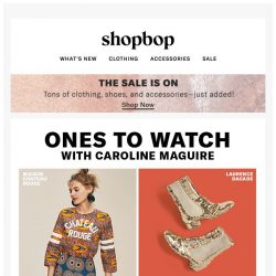 [Shopbop] 4 labels we're obsessing over