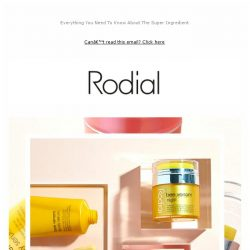 [RODIAL] Let's Talk About Retinol
