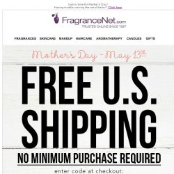 [FragranceNet] You pick it. We'll ship it (for free!)