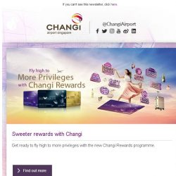 [Changi Airport] , want to win a pair of tickets to London?