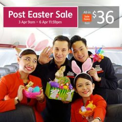 Jetstar: Post Easter Sale with All-in Sale Fares to Okinawa, Bangkok, Melbourne & More from $36!