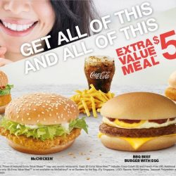 McDonald's: Enjoy an Extra Value Meal™ at only $5!