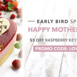 The Coffee Bean & Tea Leaf: Enjoy $5 OFF Raspberry Key Lime Cake for Your Mum!