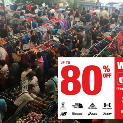 Outdoor Venture: Warehouse Clearance with Up to 80% OFF The North Face, Asics, Under Armour, New Balance & More!