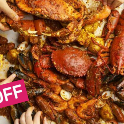Dancing Crab: Get a $100 Cash Voucher (Mon - Fri) for only $70!