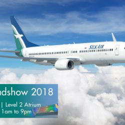 SilkAir: Enjoy Mastercard Promo Airfares from $119 to Phuket, Penang, Kuala Lumpur, Cairns, Hiroshima & More at Junction 8 Roadshow!