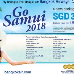 Bangkok Airways: 4-Day Package to Koh Samui from SGD368 Per Person