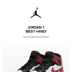 [Nike] Get it Now: Jordan 1 'Best Hand'