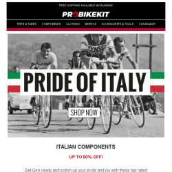 [probikekit] Components Flash Sale: Up to 50% off!