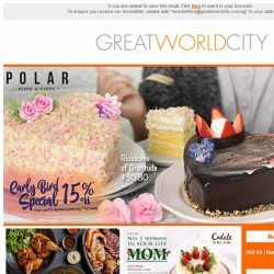 [Great World City]  May Specials at Great World City