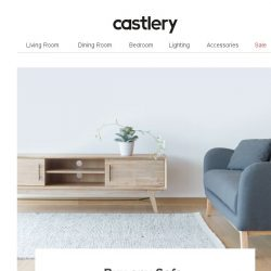 [Castlery] 20% off TV Console with Sofa purchase!