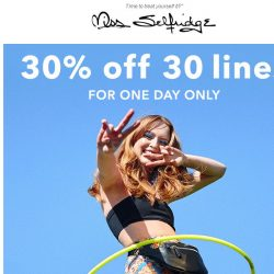 [Miss Selfridge] 💙 30% off 30 lines today only ❤️