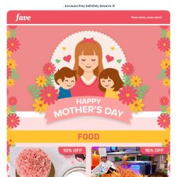 [Fave] Spoil Your Mum This Mother's Day ♥