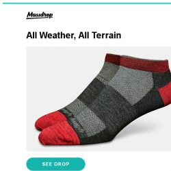 [Massdrop] Darn Tough No-Show Socks: Lifetime Guarantee & Comfy for $33.99 (3-Pack)