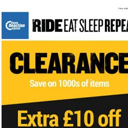[Chain Reaction Cycles] EXTRA £10 off Clearance 👀