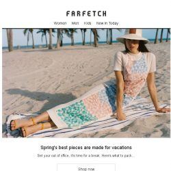 [Farfetch] Going away? Outfits to Instabrag