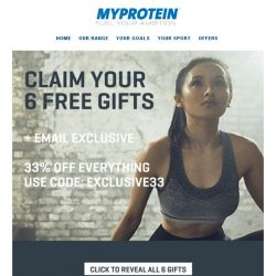 [MyProtein] Celebrating Mothers With Gifts Today.