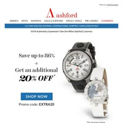 [Ashford] Be sure to grab the best price!
