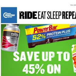 [Chain Reaction Cycles] The right fuel brings success