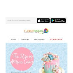 [Floweradvisor] These are Gorgeous Looking Cakes and Yet Delicious. No Basic Cake, Check Now!