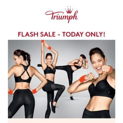 [Triumph] TODAY ONLY - Sports Bras Lovers - Click now!