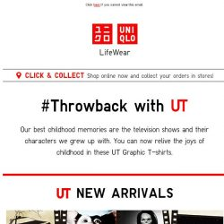 [UNIQLO Singapore] Relive the 80's with us