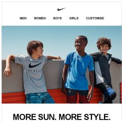 [Nike] What the Kids Are Wearing