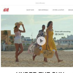 [H&M] H&M presents Under the Sun