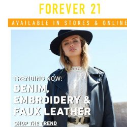 [FOREVER 21] JUST DROPPED: The Western Trend 🐎