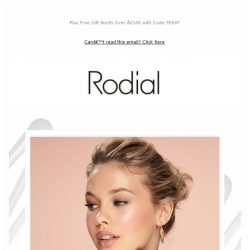 [RODIAL] Is Your Skin Ready for a Big Day?
