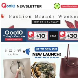 [Qoo10] [NEW LAUNCH] Skyblue Bags up to 50% off! Don't miss out on other attractive deals too!