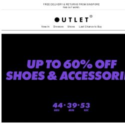 [ASOS] Up to 60% off shoes and accessories