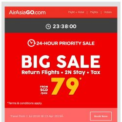 [AirAsiaGo] 🌟 FREE SEATS + HOTELS | 24-Hour Priority Sale 🌟