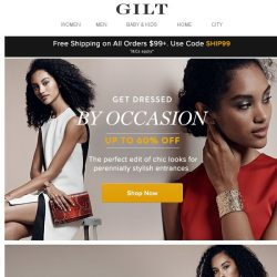 [Gilt] Up to 60% Off: Dresses by Occasion