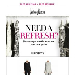 [Neiman Marcus] Attn: You've snagged THIS from Neiman Marcus Cashmere Collection + more