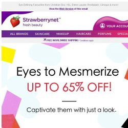 [StrawberryNet] 👀 Get Eyes to Mesmerize Up to 65% Off!