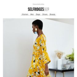 [Selfridges & Co] Wanted: one scene-stealing outfit