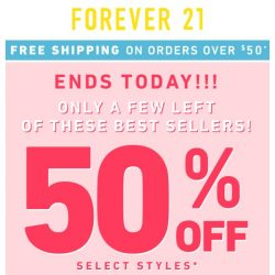 [FOREVER 21] Almost gone...